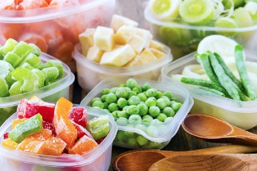 Продукты питания которые можно и нельзя подвергать заморозке