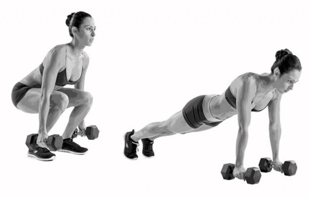 Берпи (бурпи, burpee) – легендарное кроссфит упражнение