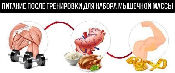 Питание после тренировки для набора массы   бомба тело