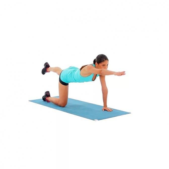 Упражнение ласточка для спины детям