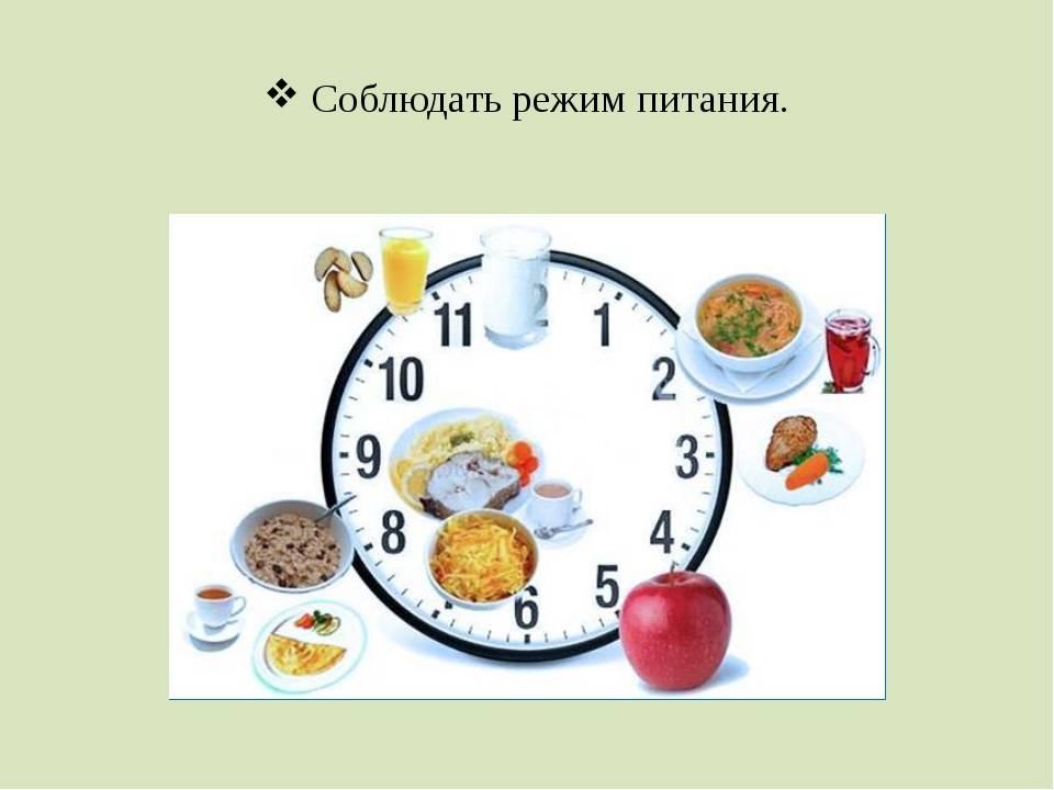 Раздельное питание для похудения с меню и рецептами