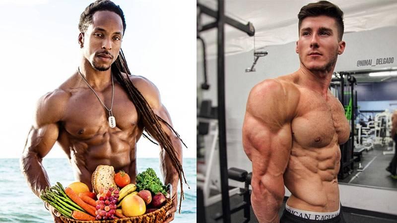 Зожник     как вегетарианцу вырастить мышцы
