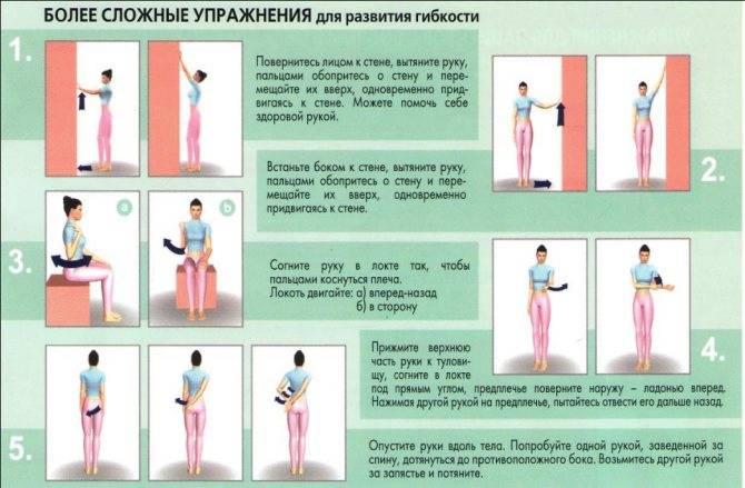 Упражнения для ротатора плеча. комплекс для разминки плеч
