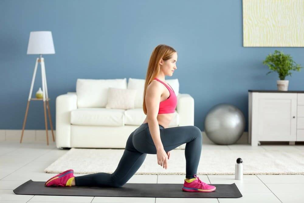 Фитнес дома для начинающих — упражнения, техника, рекомендации и советы