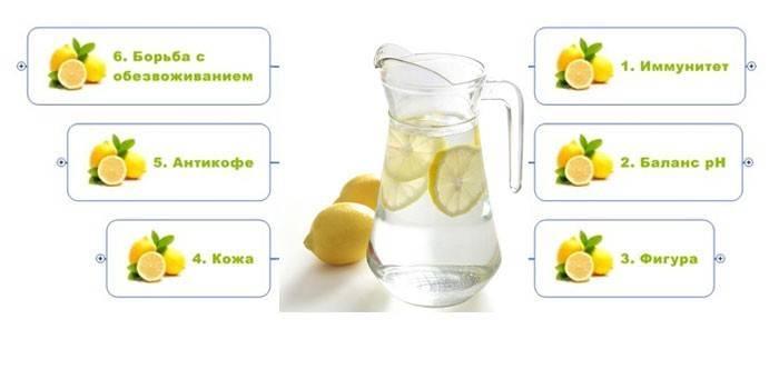 Полезные свойства воды с лимоном: 7 рецептов для похудения
