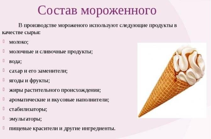 Когда лучше есть мороженое до или после еды