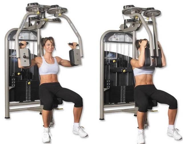 Тренажер бабочка – виды, техника сведения рук для грудных мышц, польза и недостатки