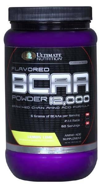 Bcaa 12000 powder от ultimate nutrition