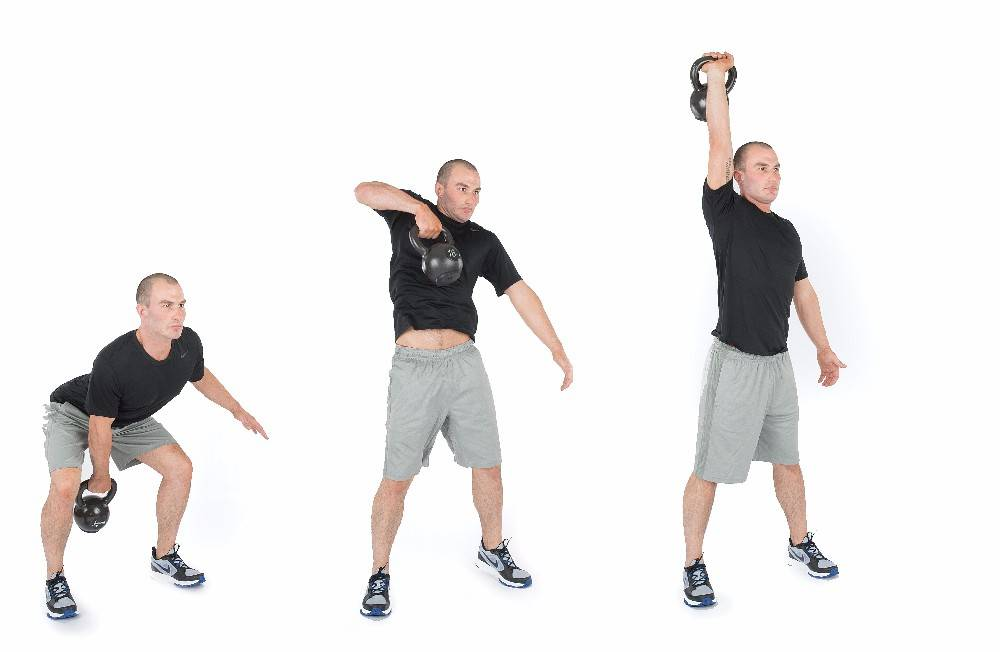 Кроссфит с гирями: комплекс упражнений, программы тренировок