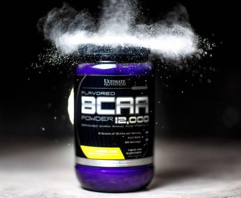 Bcaa powder 12000 от ultimate nutrition: описание и состав