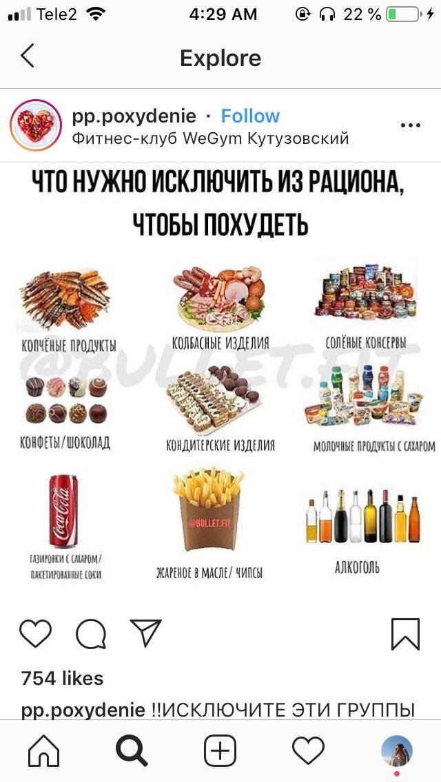 От чего отказаться, чтобы похудеть - список вредных продуктов питания и результаты