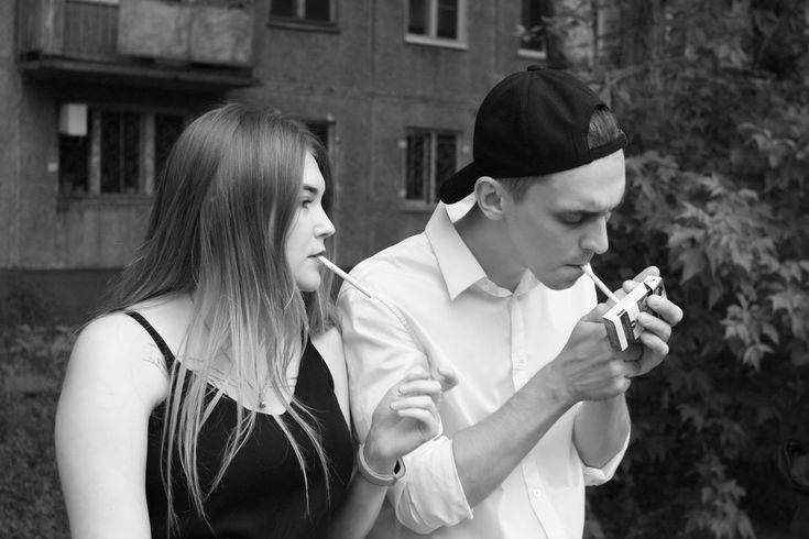 Курящая девушка -это  красиво? - город.томск.ру