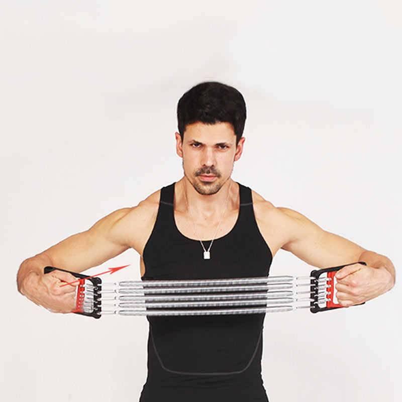 Комплекс упражнений с пружинным эспандером для мужчин и женщин — life-sup.ru
