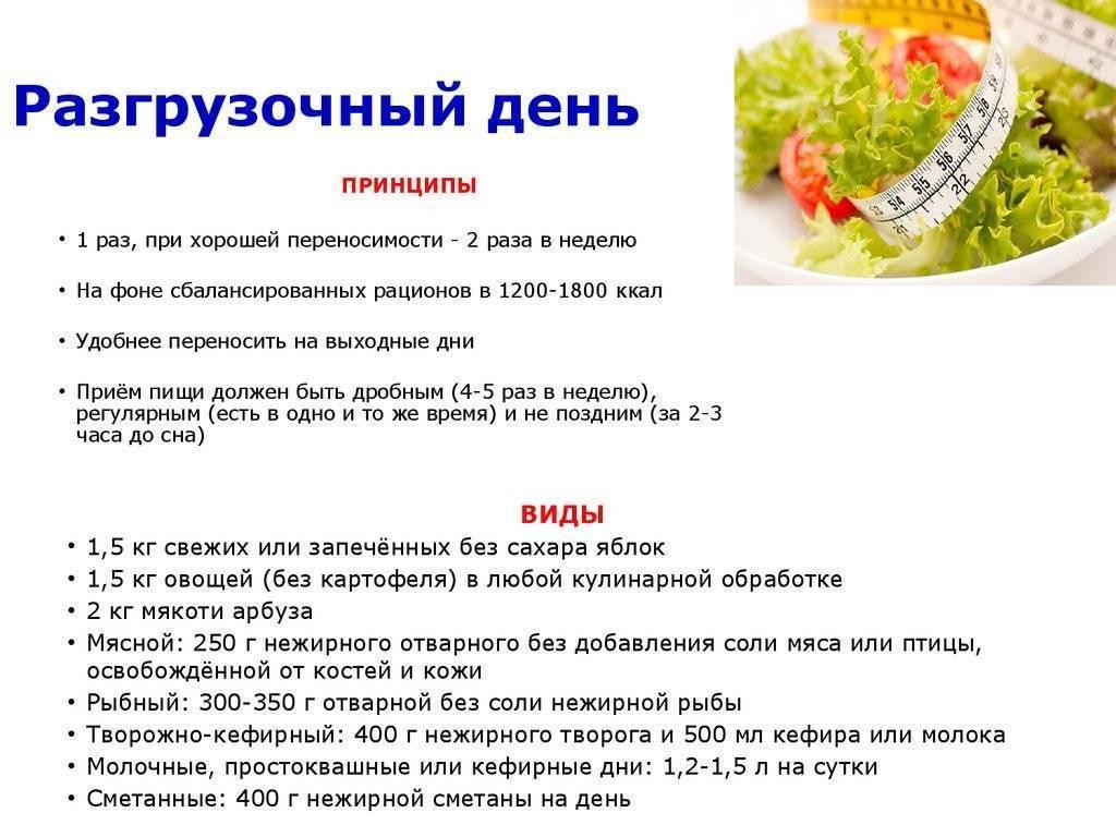 Раздельное питание для похудения с меню на неделю и таблицей для женщин