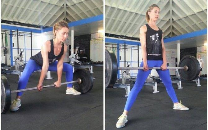 Становая тяга сумо: техника выполнения, какие мышцы работают