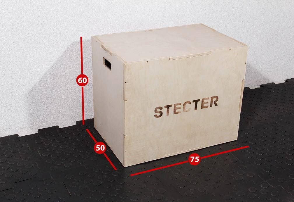 Перепрыгивание через коробку
