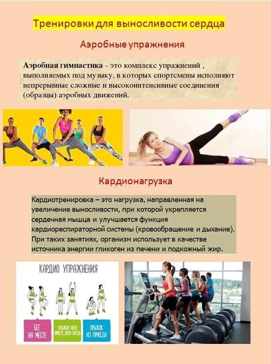 Аэробные упражнения: что это, польза и вред тренировок