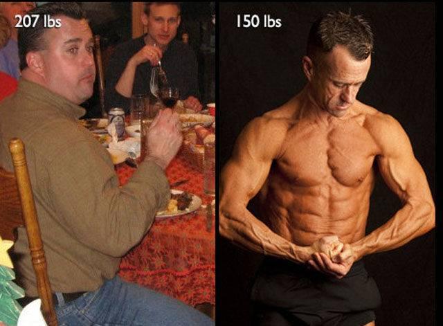 Кому легче накачаться худому или толстому?