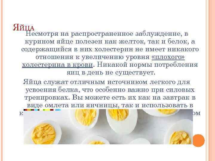 Яйцо - это... химический состав куриных яиц, польза и вред, калорийность и пищевая ценность