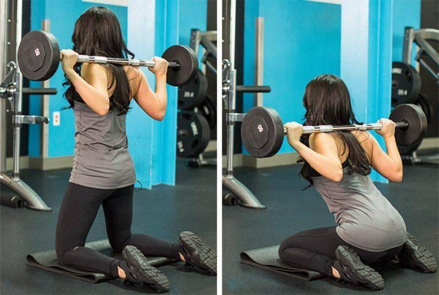 Приседания без веса: техника выполнения, какие мышцы работают