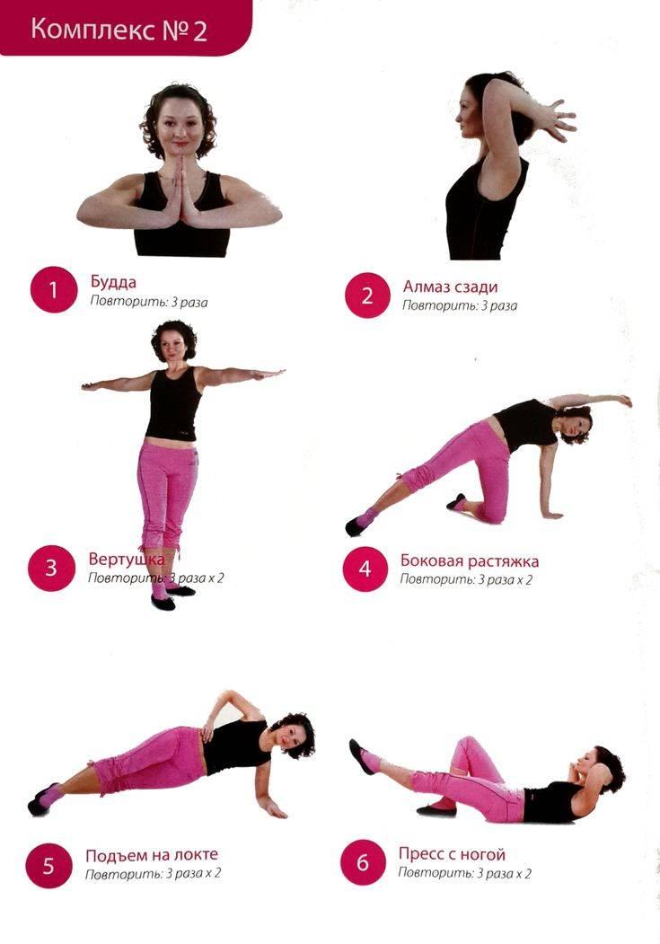 Упражнения бодифлекс для похудения - польза тренировок, эффективный комплекс, противопоказания