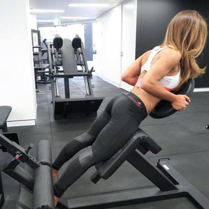 Как накачать ягодицы в тренажерном зале девушке - комплекс упражнений для попы
