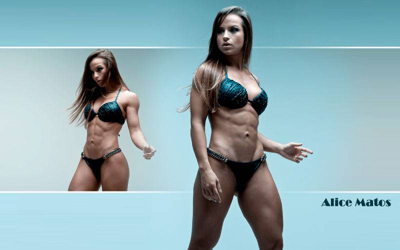 Элис Матос — Мисс Бикини из Бразилии