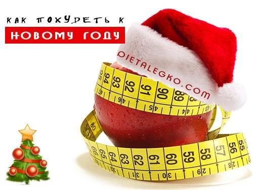 Диета 3 дня до новогодних праздников