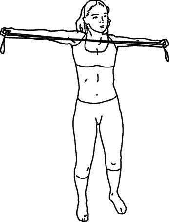 Комплекс упражнений для развития плечевого пояса.