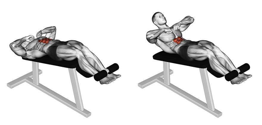 Скручивания на римском стуле: описание упражнения с фото, пошаговая инструкция выполнения и проработка мышц тела - tony.ru