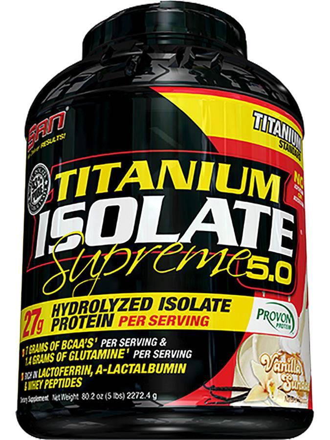Titanium isolate supreme от san