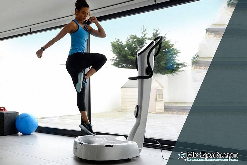 Тренажер виброплатформа: упражнения, противопоказания, отзывы