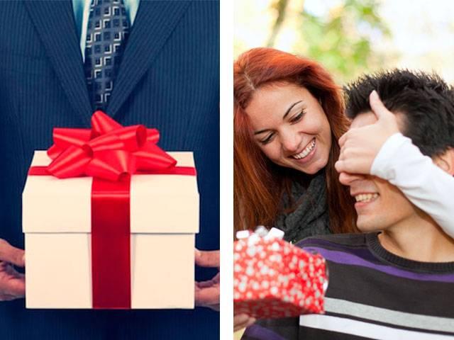 Виды подарков от мужчин