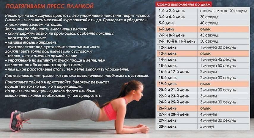 Как делать упражнение планка? сколько нужно держаться в таком положении? отзывы и результаты