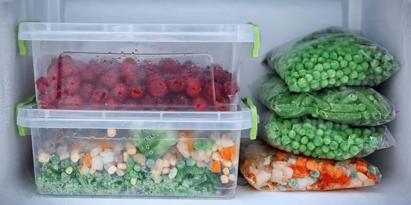 Сколько можно хранить замороженные овощи: правила, рецепты