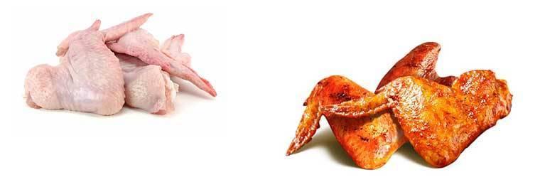 Куриные крылышки кфс — сколько в них калорий и вредны ли они?