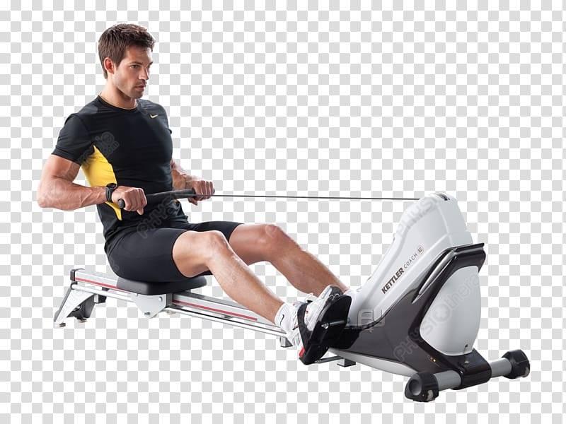 Гребля на гребном тренажере (rowing)