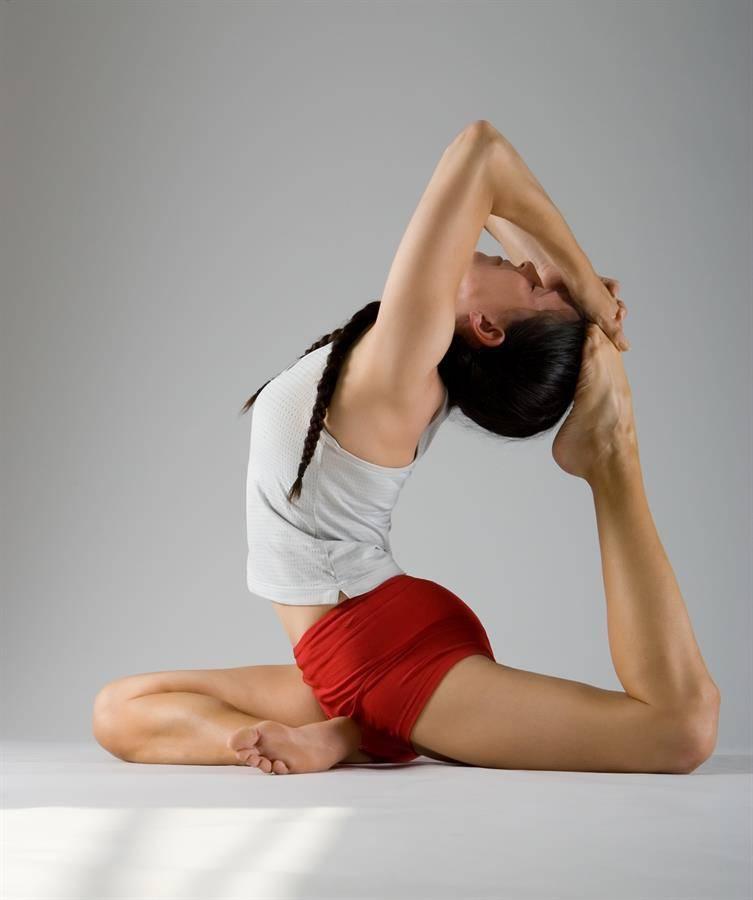 Поза голубя в йоге: как научиться выполнять