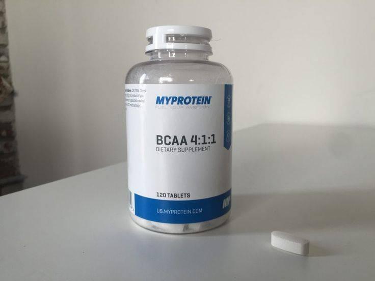 Bcaa 2:1:1 500 гр (myprotein)