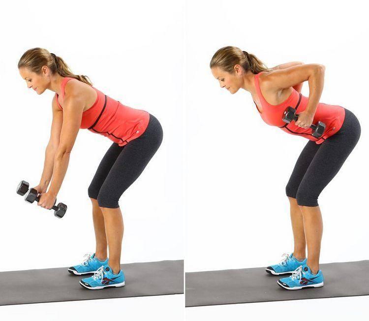 30 упражнений с гантелями на все группы мышц для эффективной тренировки