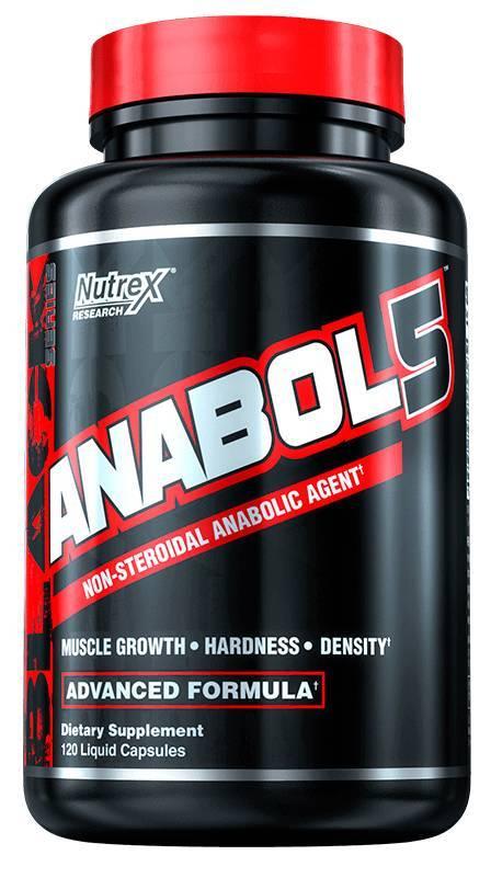 Nutrex anabol-5 120 капсул - специальные препараты
