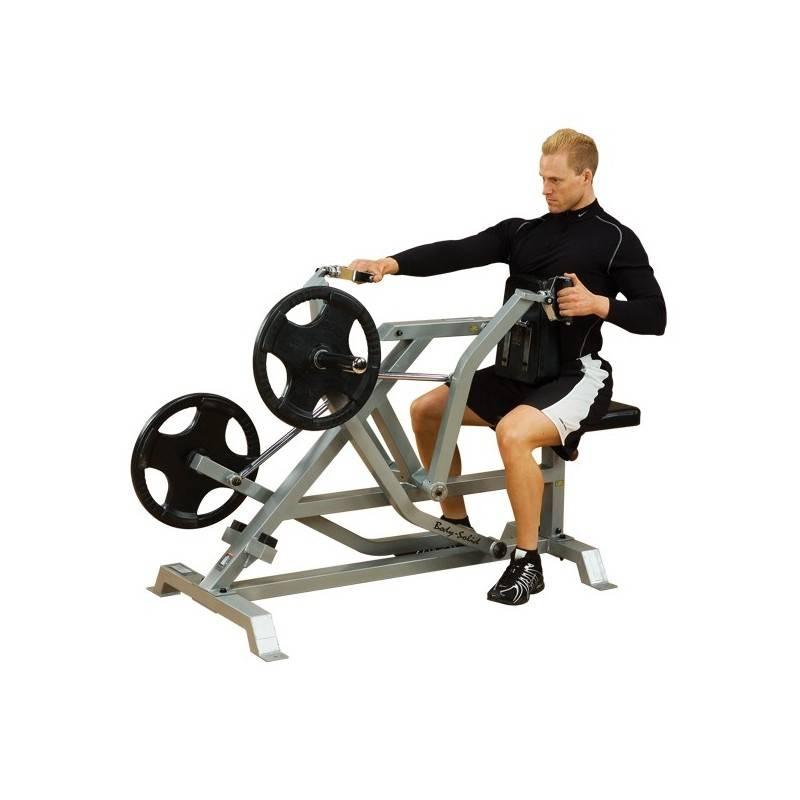 Т-тяга в тренажере: техника выполнения, какие мышцы работают