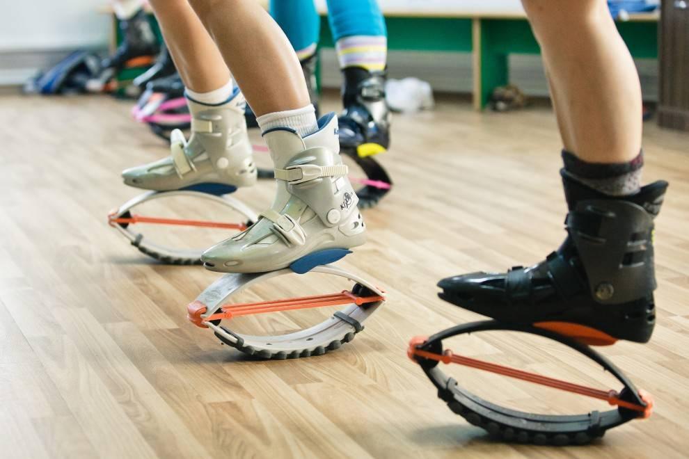 Кенгу джампс: как выбрать ботинки, противопоказания, виды тренировок