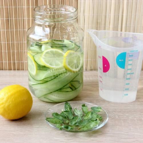 Лимонная вода – рецепты, правила приготовления, польза и вред