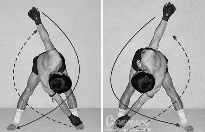 Упражнение «мельница»: работающие мышцы и техника выполнения