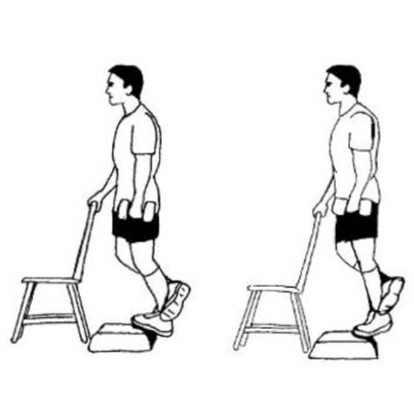 Подъем на носки стоя: техника выполнения упражнения со штангой и гантелями