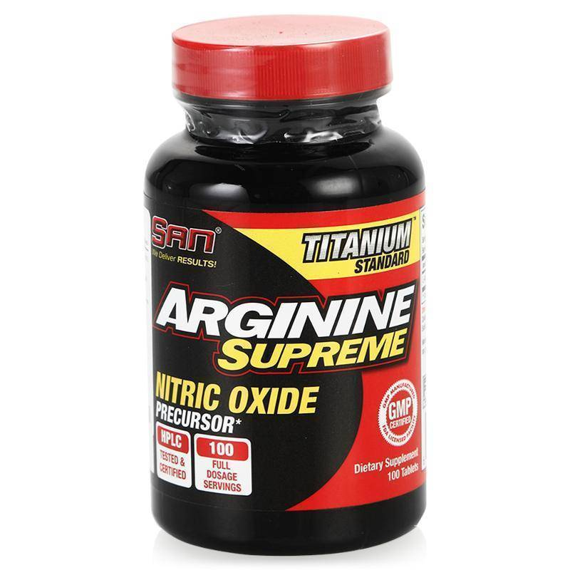 Arginine supreme 100 табл (san)