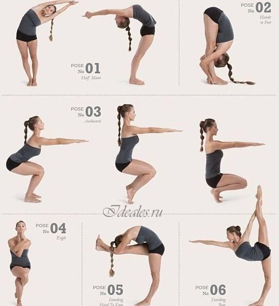 Упражнения для развития гибкости у ребенка