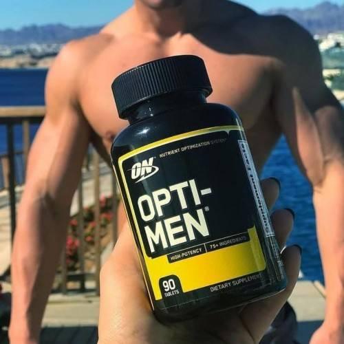 Витамины для мужчин при занятии спортом