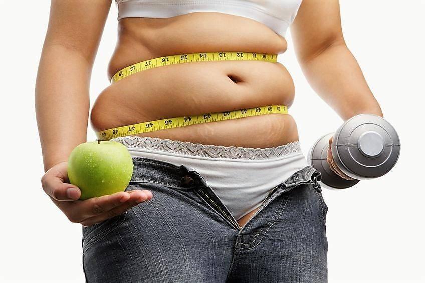 Как похудеть без диеты и убрать живот женщине